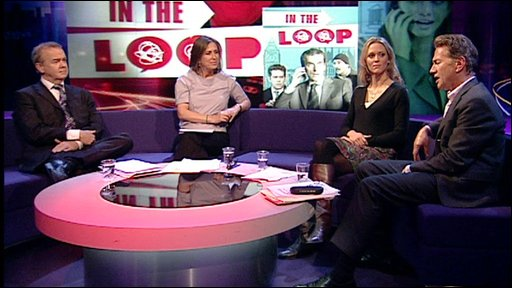 The panel discuss In The Loop