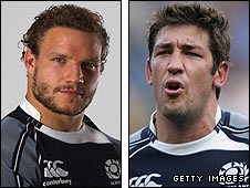 Euan Murray and Nathan Hines will be in the Lions' party
