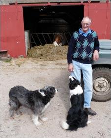 Farmer Danny Leslie