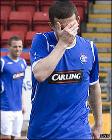 Rangers midfielder Barry Ferguson