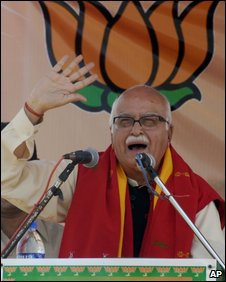 BJP leader LK Advani