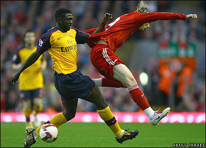 Toure tackles Torres