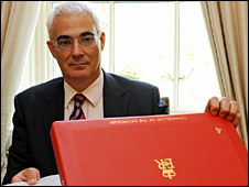 Alistair Darling will announce his budget on Wednesday