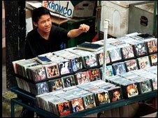 Fake DVDs