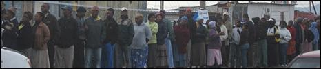 Cape Town voting