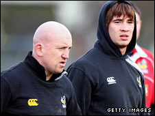 Shaun Edwards and Danny Cipriani