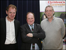 Andrew Motion, James Naughtie, Michael Rosen