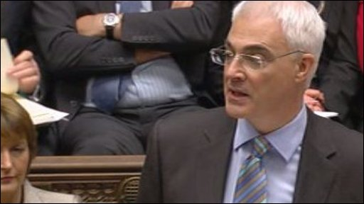 Chancellor Alistair Darling