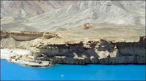 Band-e-Amir national park, Afghanistan - - image courtesy of Wildlife Conservation Society