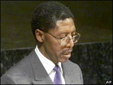 Lesotho's Prime Minister Bethuel Pakalitha Mosisili. File photo
