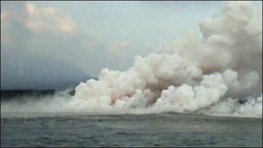 Galapagos volcano