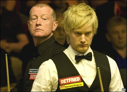 Steve Davis and Neil Robertson