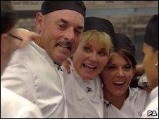 Bruce Grobbelaar on Hell's Kitchen