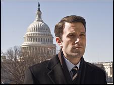 Ben Affleck as congressman Stephen Collins