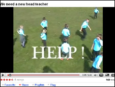 Melvich Primary's YouTube advert