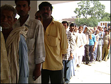 Voting in Amethi