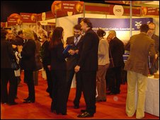 Participants at the VisitScotland Expo 2009