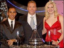 Lewis Hamilton, Chris Hoy, Rebecca Adlington