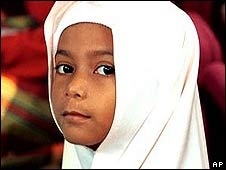 A Muslim child in Kuala Lumpur (file photo)