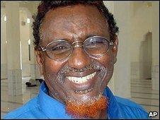 Sheikh Hassan Dahir Aweys in 2005