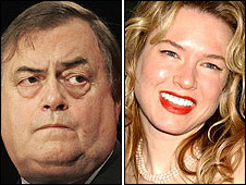 John Prescott and Renee Zellweger