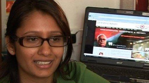 Mallika Noorani, BJP Vounteer