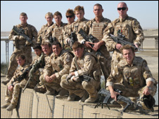 First troop C Squadron Queen's Dragoon Guards