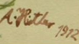 Adolf Hitler's signature