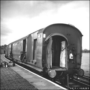 Train carriage from the Great Train Robbery