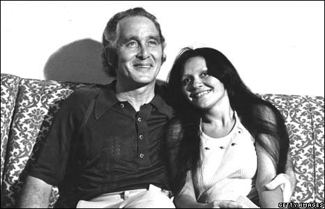Ronald Biggs, with his Brazilian girlfriend Raimunda Nascimento de Castro