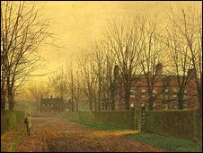 Atkinson Grimshaw's Autumn Afterglow