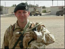 Maj Dickie Head in Basra