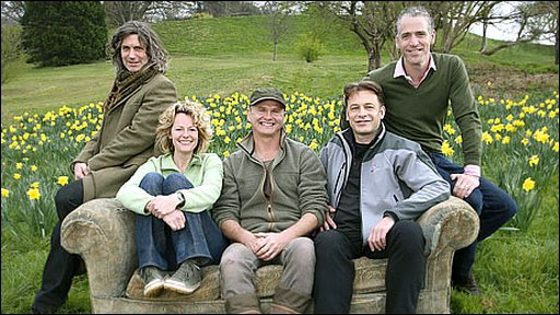 Springwatch presentation team