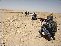 قوات عراقية في محافظة الأنبار