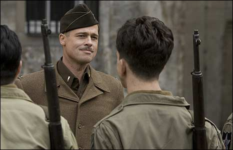 Brad Pitt in Inglourious Basterds