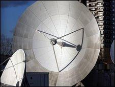 Satellite dish (file image)