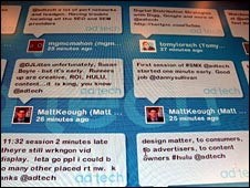 Twitter messages