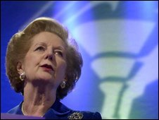 Margaret Thatcher in 2001