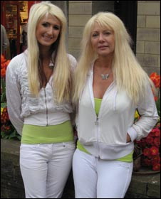 Jane and Janet Cunliffe