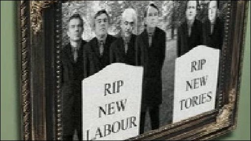 RIP New Labour graphic