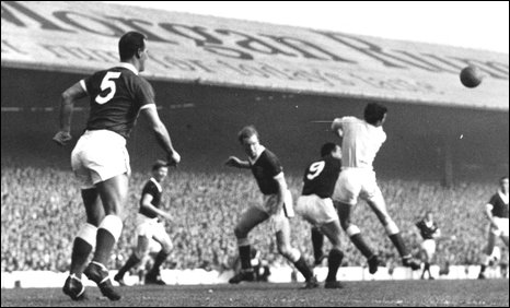 Wales v Scotland in 1962 (Picture: Media Wales)