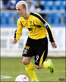 Livingston striker Leigh Griffiths