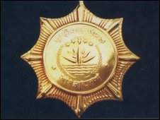 BDR badge