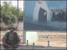 Sgt Brian Wood in Al Amara