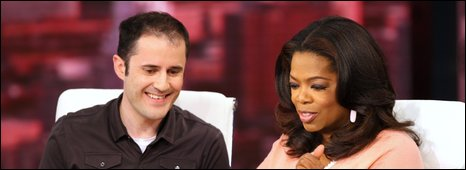 Oprah Winfrey sends her first Tweet