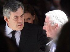 Gordon Brown and Lord Steel