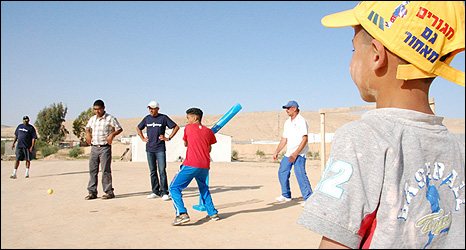 Cricket For Change in the Negev