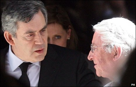 Gordon Brown and David Steel