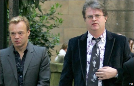 Graham Norton and Paul Merton