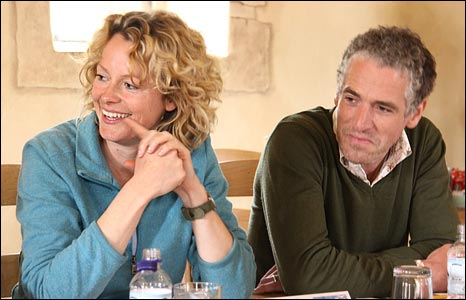 Kate Humble and Gordon Buchanan